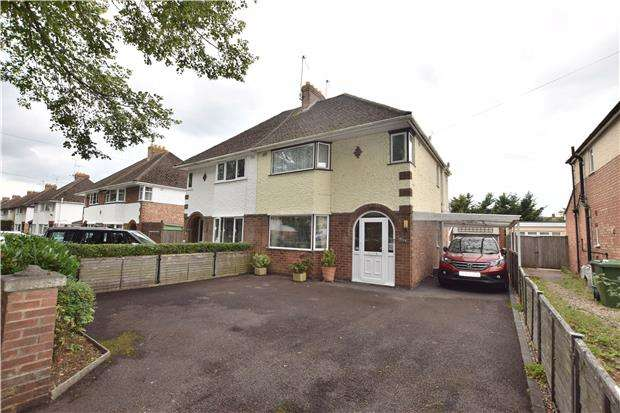 3 Bedrooms Semi Detached House for sale in Brooklyn Road, CHELTENHAM, Gloucestershire, GL51 8DY