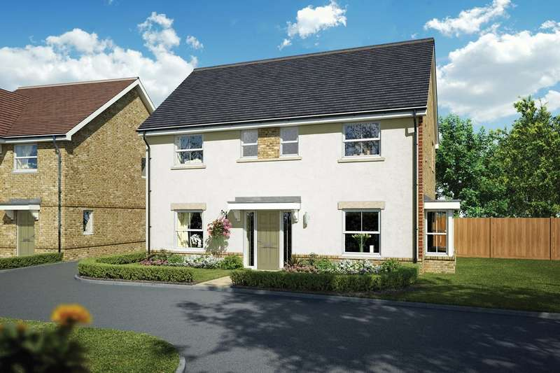 4 Bedrooms Detached House for sale in Solomon's Seal, Old Guildford Road