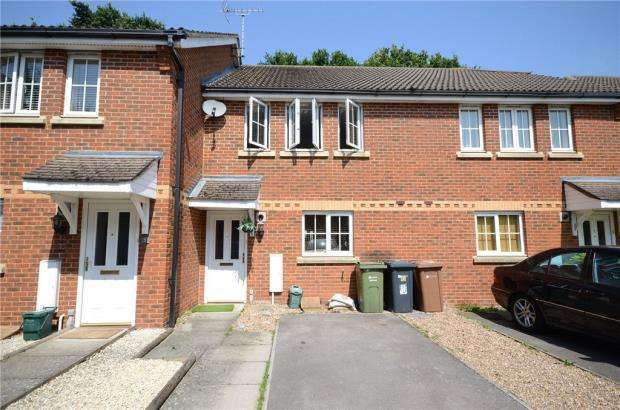 3 Bedrooms Terraced House for sale in Queen Elizabeth Close, Ash, Surrey