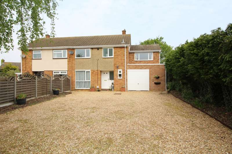 4 Bedrooms Semi Detached House for sale in Chapel End Road, Houghton Conquest, Bedford, MK45