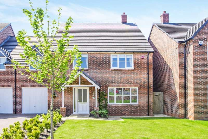 4 Bedrooms Semi Detached House for sale in Belper Road, Stanley Common, Ilkeston, Derbyshire, DE7