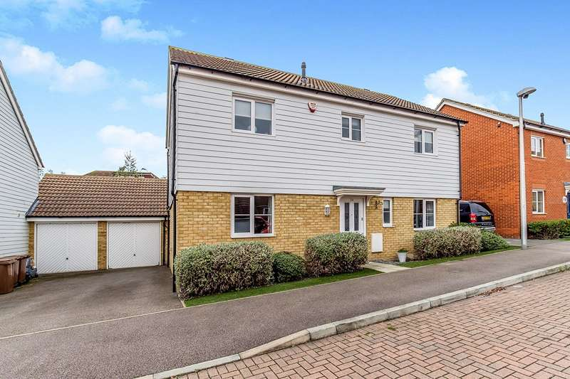4 Bedrooms Detached House for sale in Gudgeon Crescent, Hoo, Rochester, Kent, ME3