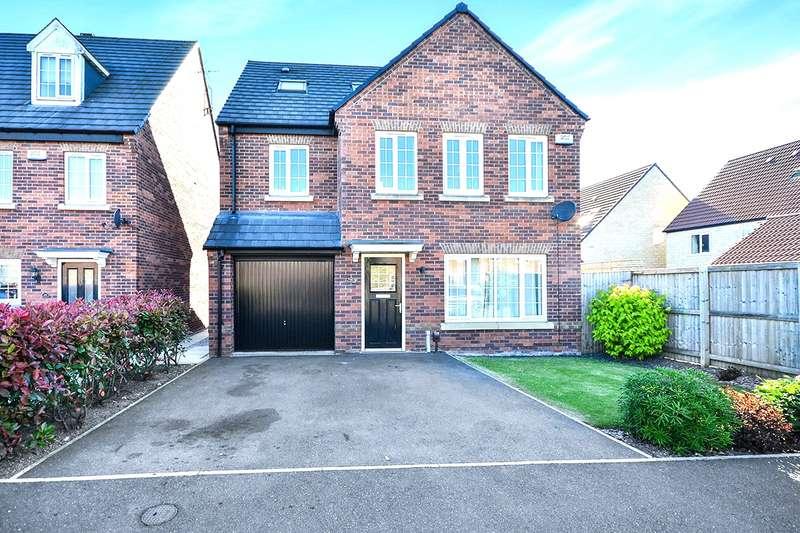 4 Bedrooms Detached House for sale in Knitters Road, South Normanton, Alfreton, Derbyshire, DE55