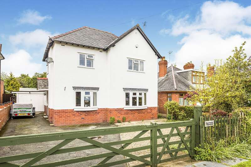 3 Bedrooms Detached House for sale in St. Martins Road, Gobowen, Oswestry, Shropshire, SY11