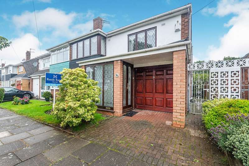 3 Bedrooms Semi Detached House for sale in Lynton Crescent, Widnes, Cheshire, WA8