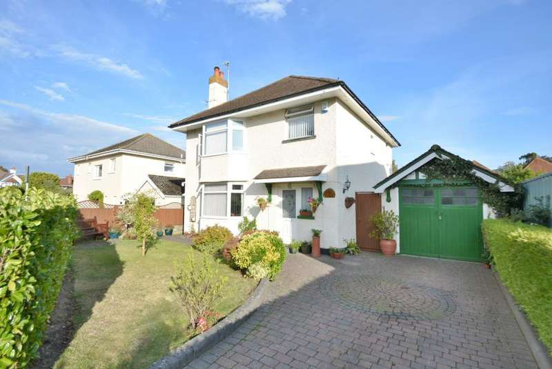 4 Bedrooms Detached House for sale in Alverton Avenue, Poole, BH15 2QF