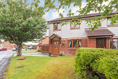 3 Bedrooms Semi Detached House for sale in Obree Avenue, Prestwick