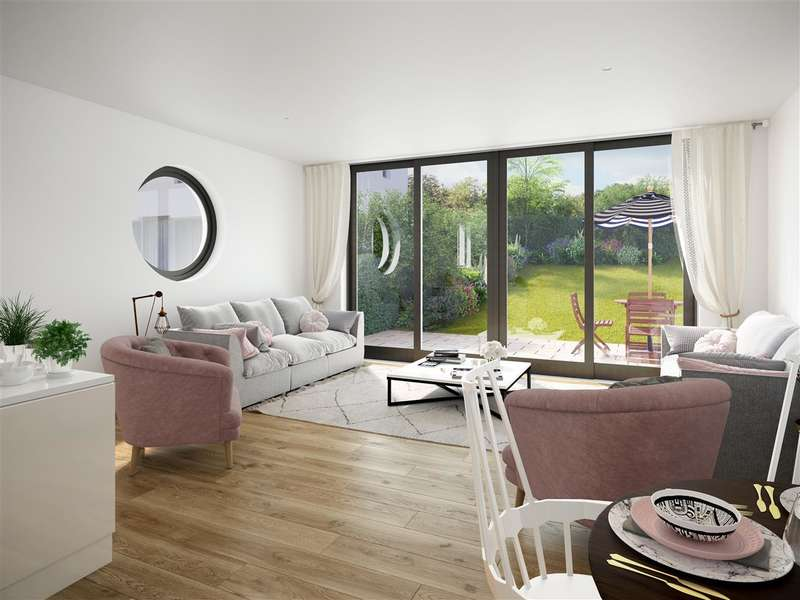 4 Bedrooms Terraced House for sale in Eco-Home, Water Lilies, The Old Reservoir, Kings Weston, Bristol