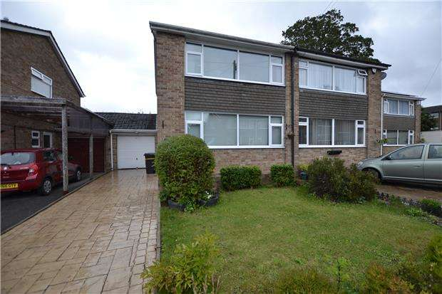 3 Bedrooms Semi Detached House for sale in Matford Close, BRISTOL, BS10 6LR