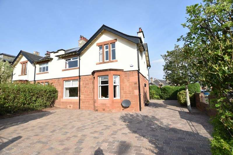 4 Bedrooms Semi-detached Villa House for sale in 63 St Meddans Street, Troon, KA10 6NN