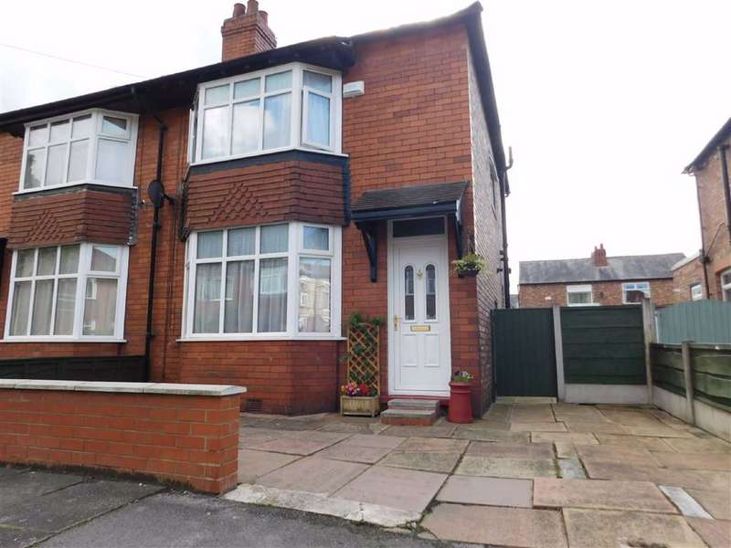 3 Bedrooms Semi Detached House for sale in Heathside Road, Cheadle Heath, Stockport