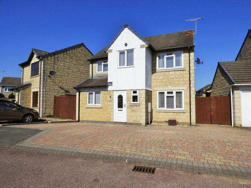 4 Bedrooms Detached House for sale in Thomas Stock Gardens, Abbeymead, Gloucester