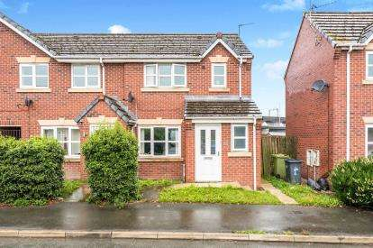3 Bedrooms Semi Detached House for sale in West Bank Street, Widnes, Cheshire, WA8