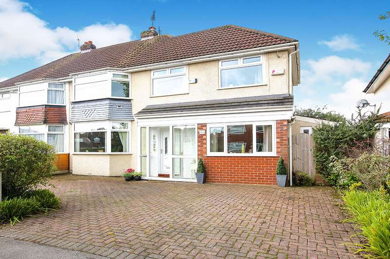 4 Bedrooms Semi Detached House for sale in Brown Lane, Heald Green, Cheadle, Cheshire, SK8