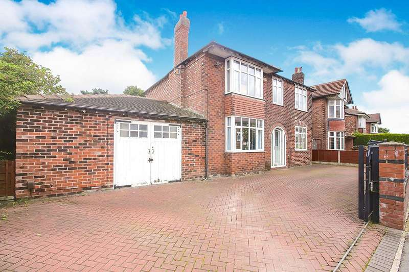 4 Bedrooms Detached House for sale in Richmond Hill Road, Cheadle, Greater Manchester, SK8
