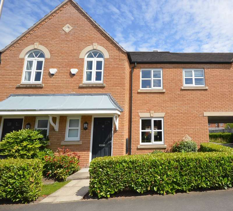 3 Bedrooms Terraced House for sale in Mill Pool Way, Sandbach, CW11 4BS