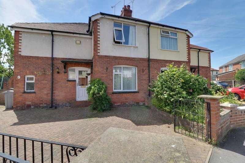 3 Bedrooms Semi Detached House for sale in Second Avenue, Sandbach, CW11 4NY