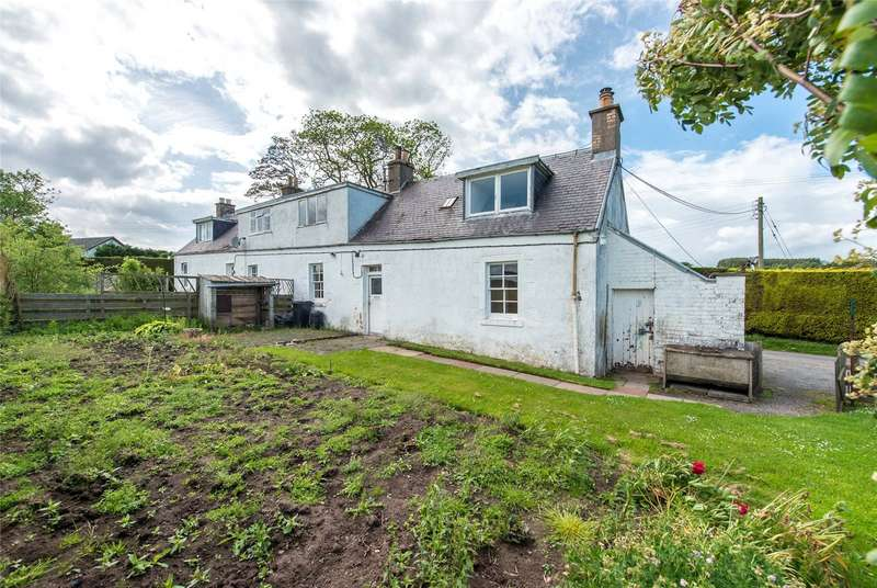 3 Bedrooms Semi Detached House for sale in 2 Netherwells Farm Cottages, Jedburgh, Scottish Borders, TD8
