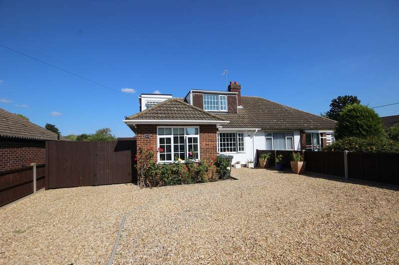 3 Bedrooms Semi Detached House for sale in Bedford Road, Houghton Conquest, Bedfordshire, MK45