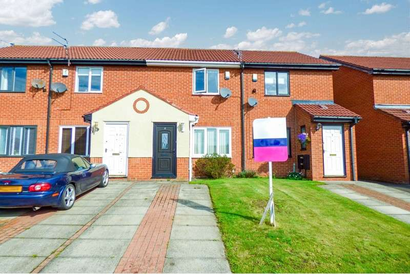 2 Bedrooms Property for sale in alstone court, Choppington, choppington, Northumberland, ne62 5bu