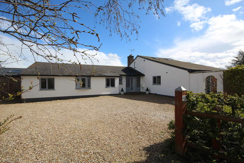 4 Bedrooms Detached Bungalow for sale in Higher Kinnerton, Chester