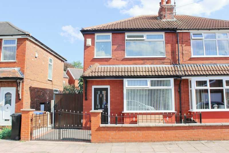 3 Bedrooms Semi Detached House for sale in Goyt Crescent, Stockport, Greater Manchester, SK1