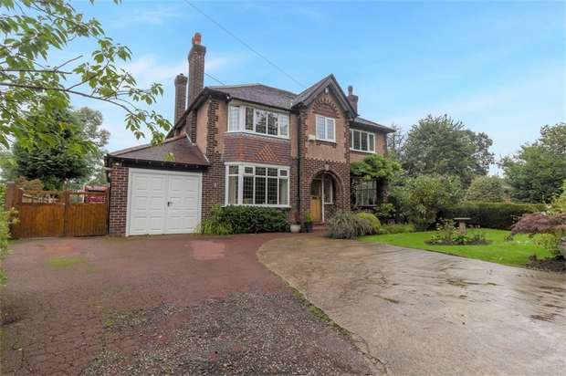 4 Bedrooms Detached House for sale in Dan Bank, Marple, Stockport, Cheshire