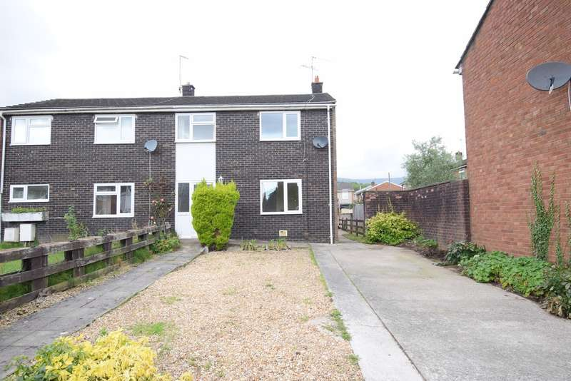 4 Bedrooms Semi Detached House for sale in Tintern Close, Southville, Cwmbran, NP44