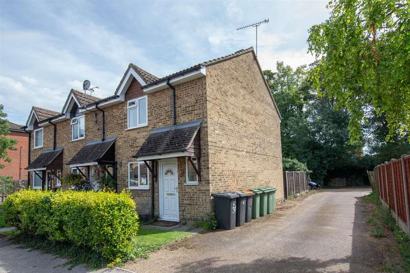 2 Bedrooms End Of Terrace House for sale in Halleys Way, Houghton Regis, Bedfordshire