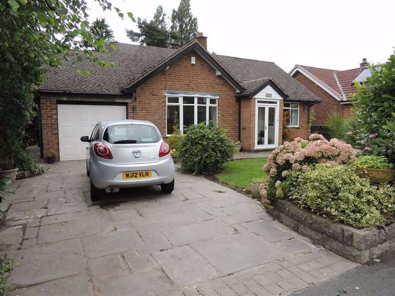 4 Bedrooms Detached Bungalow for sale in Mostyn Road, Hazel Grove, Stockport