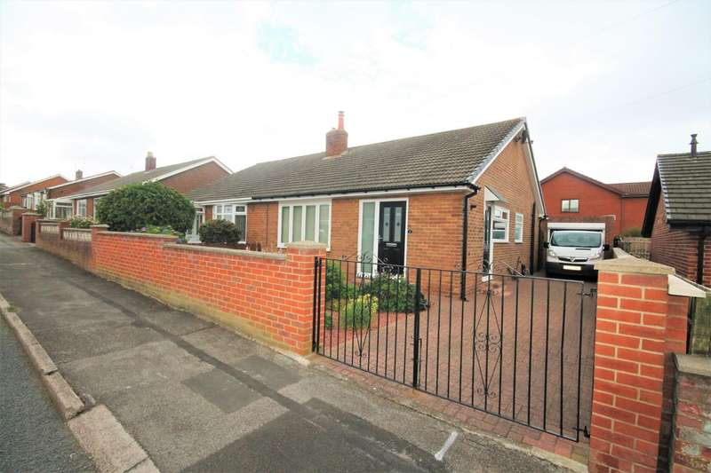2 Bedrooms Semi Detached Bungalow for sale in Dean Gardens, Shildon