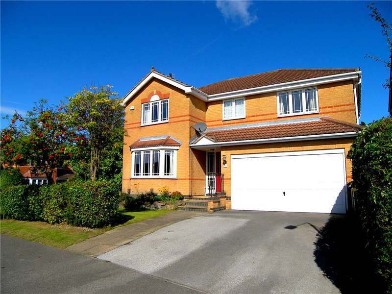 4 Bedrooms Detached House for sale in Turnley Road, South Normanton, Derbyshire, DE55