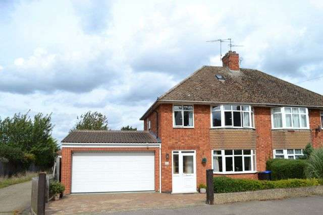 3 Bedrooms Semi Detached House for sale in Friars Avenue, Delapre, Northampton NN4 8PX