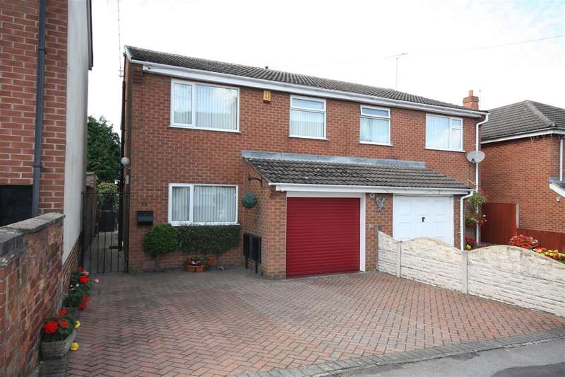 4 Bedrooms Semi Detached House for sale in Wall Street, Ripley