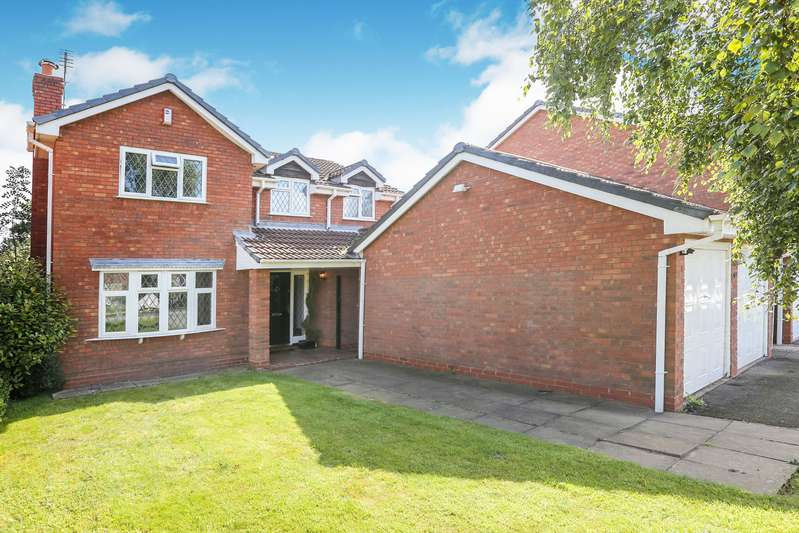 4 Bedrooms Detached House for sale in Wentworth Grove, Perton, Wolverhampton, Staffordshire, WV6