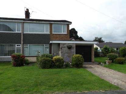 3 Bedrooms Semi Detached House for sale in Garth Wen, Llanfairfechan, Conwy, LL33