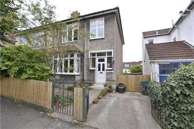 3 Bedrooms Semi Detached House for sale in Claremont Avenue, Bishopston, Bristol, BS7 8JD