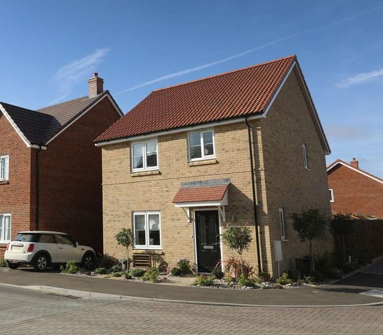 3 Bedrooms Semi Detached House for sale in The Hopwood, Chapel End Road, Houghton Conquest, MK45