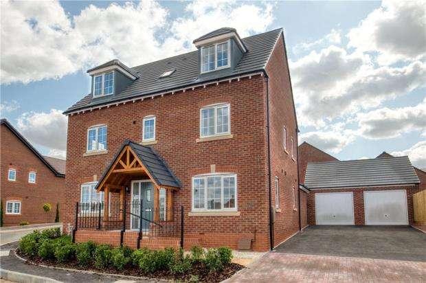 5 Bedrooms Detached House for sale in Harbury Lane, Heathcote, Warwick, Warwickshire