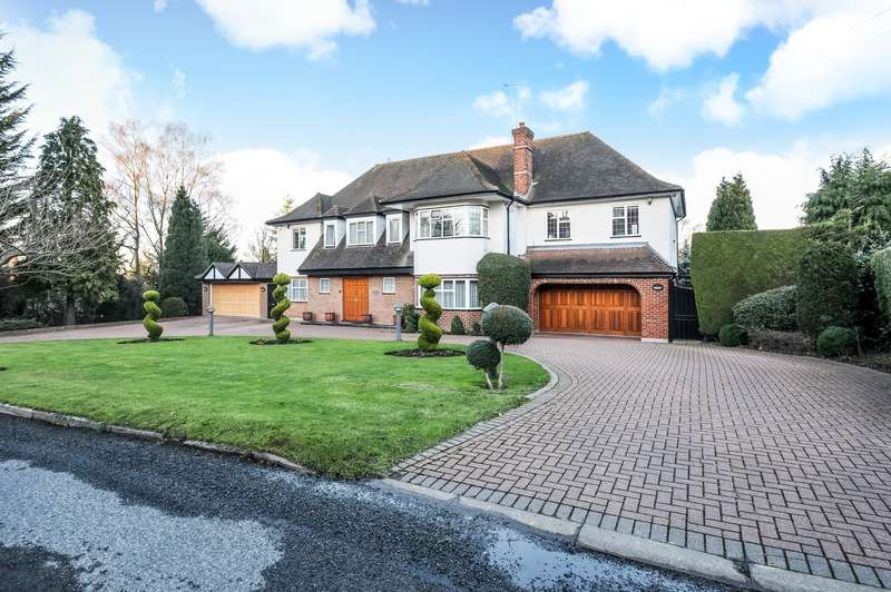 6 Bedrooms Detached House for sale in Russell Road, Moor Park