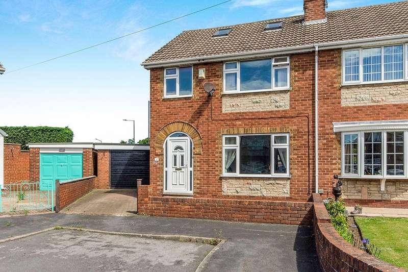 4 Bedrooms Semi Detached House for sale in Hyland Crescent, Balby, Doncaster, South Yorkshire, DN4