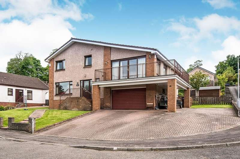 5 Bedrooms Detached House for sale in Broomhead Park, Dunfermline, Fife, KY12