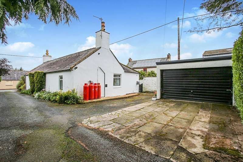 2 Bedrooms Detached Bungalow for sale in High Road, Hightae, Lockerbie, Dumfriesshire, DG11