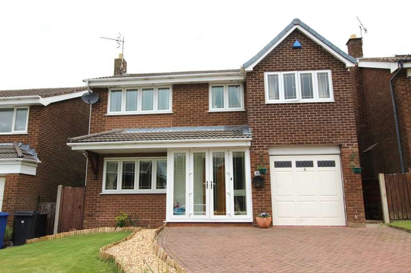 4 Bedrooms Detached House for sale in Earlswood, Skelmersdale, Lancashire, WN8