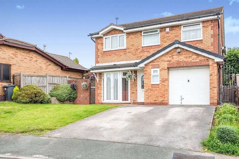5 Bedrooms Detached House for sale in Kingsbury Court, WN8