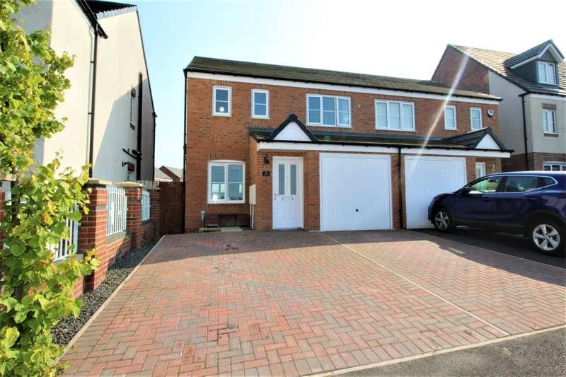 3 Bedrooms Semi Detached House for sale in Corning Road, Alexandra Park, Sunderland, SR4