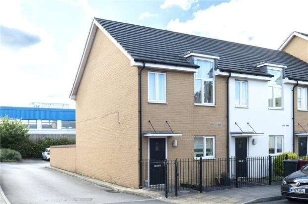2 Bedrooms End Of Terrace House for sale in Longships Way, Reading, Berkshire
