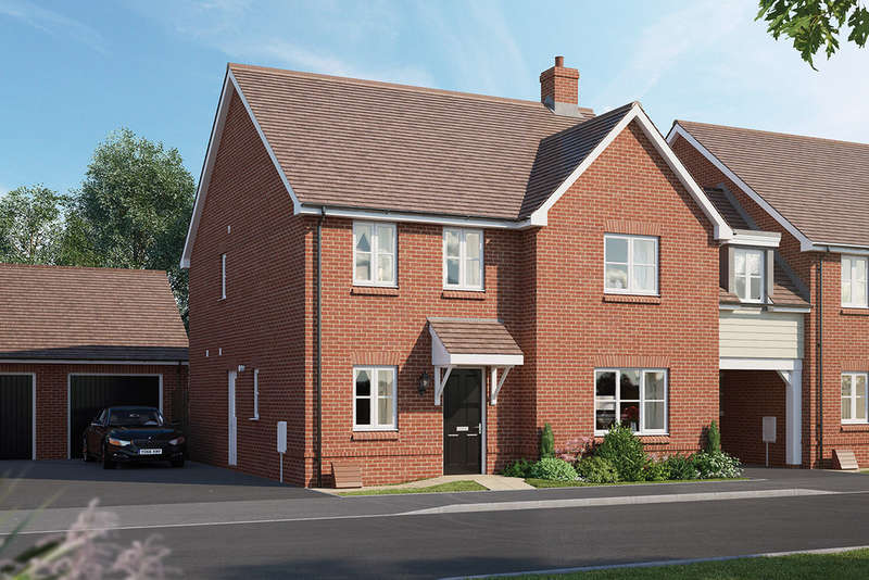 4 Bedrooms Detached House for sale in The Oakford, Chapel End Road, Houghton Conquest, MK45