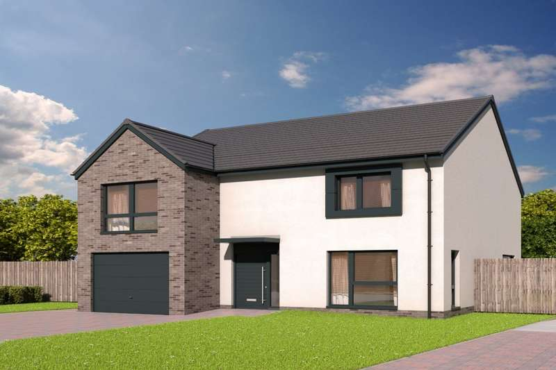 4 Bedrooms Detached House for sale in The Jardine Devongrange, Sauchie, Alloa, Clackmannanshire, FK10
