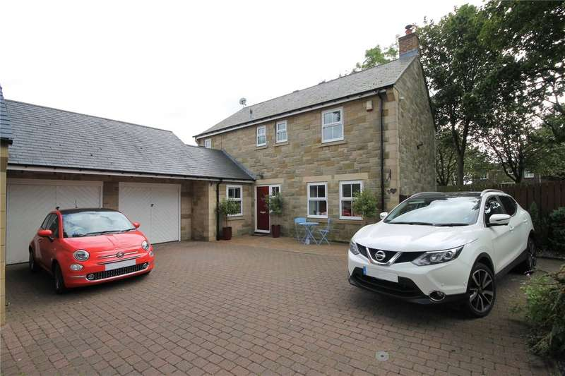 4 Bedrooms Detached House for sale in Hunters Close, Medomsley, Consett, DH8